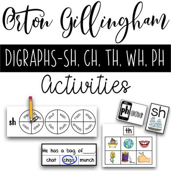 Orton Gillingham Digraph Activities