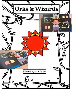 Orks & Wizards Board Game for Articulation DIY