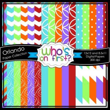 Orlando Digital Paper Set