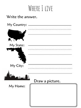 Orlando Florida Where I Live Worksheet By Missloucrafts Tpt As you can see, there are many details. live worksheet by missloucrafts tpt
