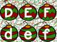 Alphabet Match Ornament