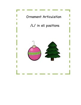 Ornament Articulation /L/ in all positions