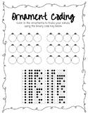 Winter Coding Worksheet NO PREP