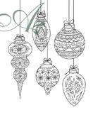 Ornament Coloring Sheet