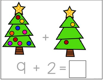 Ornament Counting and Addition Books: Interactive and Differentiated