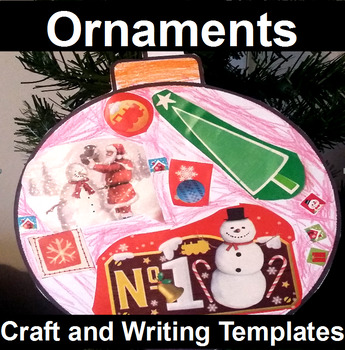 Ornament Craft and Writing Templates