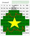 Ornament Hidden Picture for 100 chart