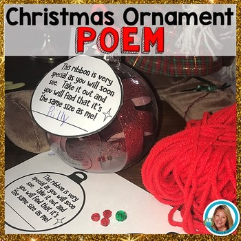 Christmas Ornament Poem (to put on an ornament)