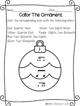 Ornament Rhythm Coloring Pages 2