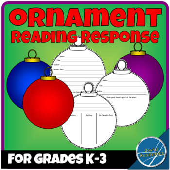 Ornament-Shaped Reading Response Sheets