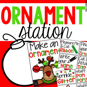 Ornament Station - Fun Holiday Party