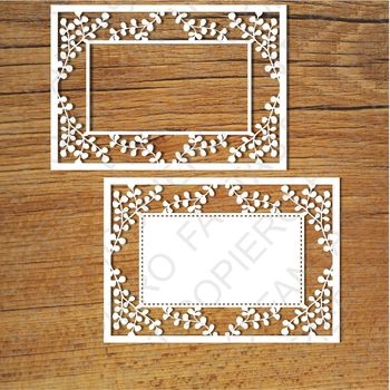 Ornamental Frame (1) SVG files for Silhouette Cameo and Cricut.