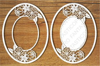 Ornamental Frame (10) SVG files for Silhouette Cameo and Cricut