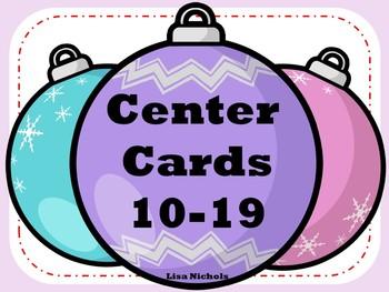 Addition Cards 10-19