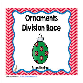 Ornaments Division Race