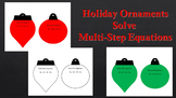Ornaments: Solve Multi-Step Equations