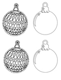 Ornaments for student pictures