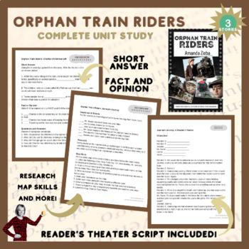 Orphan Train Riders Unit Study