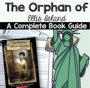 The Orphan of Ellis Island Literature Circle/Book Study- {Immigration Studies}