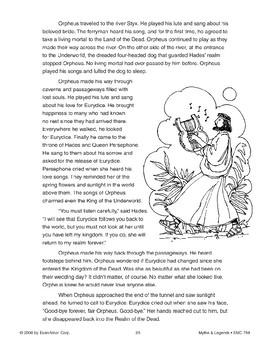 Orpheus and Eurydice - Greek and Roman Myth
