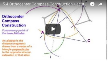 Orthocenter Compass Construction Worksheet