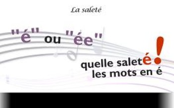 "French spelling and grammar in songs : Orthochanson ""La saleté"""