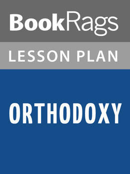 Orthodoxy Lesson Plans