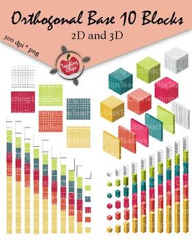 Orthogonal Base 10 Blocks