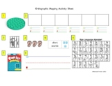 Orthographic Mapping Activity Sheet