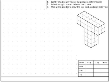 Orthographic Projection Tee