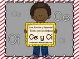 #Lomejorde2016 Ortografía y Palabras con Ce y Ci ¡Lee, Escribe y Aprende!