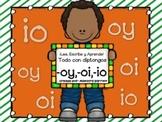 Ortografía y Palabras con Diptongo oi,io,oy ¡Lee, Escribe