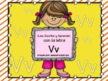 Ortografía y Palabras con Vv ¡Lee, Escribe y Aprende!