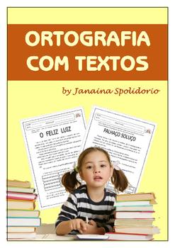 Ortografia com textos