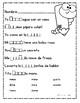 Spanish Spelling Words /m y d Ortografía de palabras