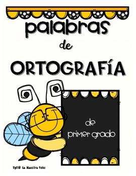 Spanish Spelling Words /s y l Ortografía de las palabras