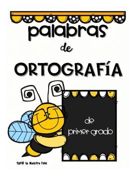 Spanish Spelling Words / t y d Ortografía de palabras