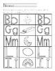 Orton Gilliganham Letter Practice for B G L M I