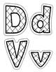 Orton Gilliganham Letter Practice for D V J H O