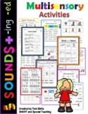 5 Sounds +Suffixes Word Work Level 1 Unit 10 (Dyslexia/RTI)
