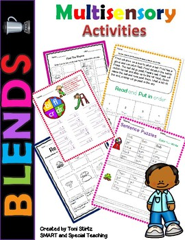 Orton-Gilligham Beginning and Ending Blends (Dyslexia/RTI)