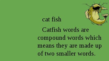Orton Gilligham Catfish Words