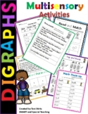 Orton-Gilligham Digraph Word Work Level 1 Unit 3 (Dyslexia/RTI)