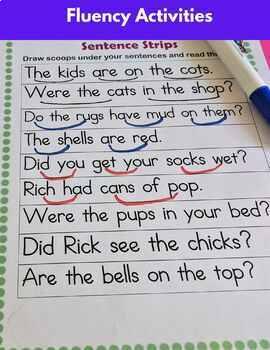 -am & -an Word Work Level 1 Unit 5   (Dyslexia/RTI)