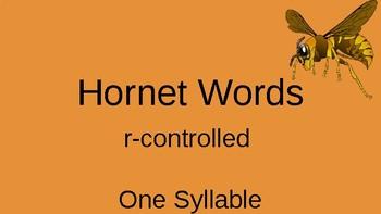 Orton Gilligham Hornet Words