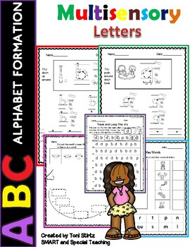 Letter Formation  Level 1 Unit 1 (Dyslexia/RTI)