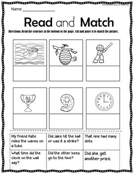 Magic E-Silent e Word Work Level 1 Unit 11 (Dyslexia/RTI)