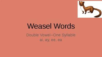 Orton Gilligham Weasel Words