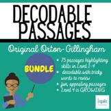 Orton-Gillingham: Decodable Passages (Growing) Bundle