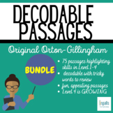 Orton-Gillingham: Decodable Passages (Growing) Bundle